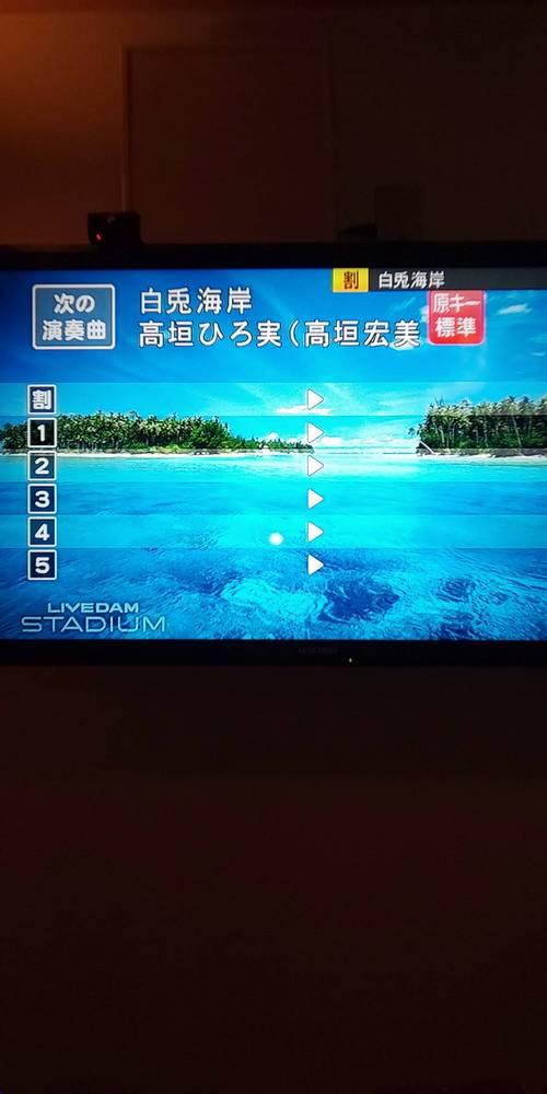 通信カラオケDAMの歌手名の文字変更