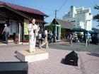 因幡船岡駅ふれあい市
