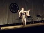 桜祭りのイベントステージにゲスト出演