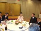 日韓トンネル推進会議結成1周年記念大会晩餐会